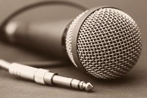 microfono podcasts